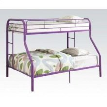 Tritan Purple T/full Bunkbed