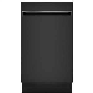 "GE ProfileGE Profile™ 18"" ADA Compliant Stainless Steel Interior Dishwasher with Sanitize Cycle"
