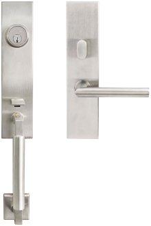 "NY Handleset Tubular Frankfurt Entry 2-3/8"" 32D LH"
