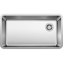 """Formera 33"""" XL Super Single Bowl - Stainless Steel"""