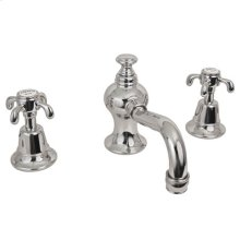 Aged Brass Widespread Lavatory Faucet