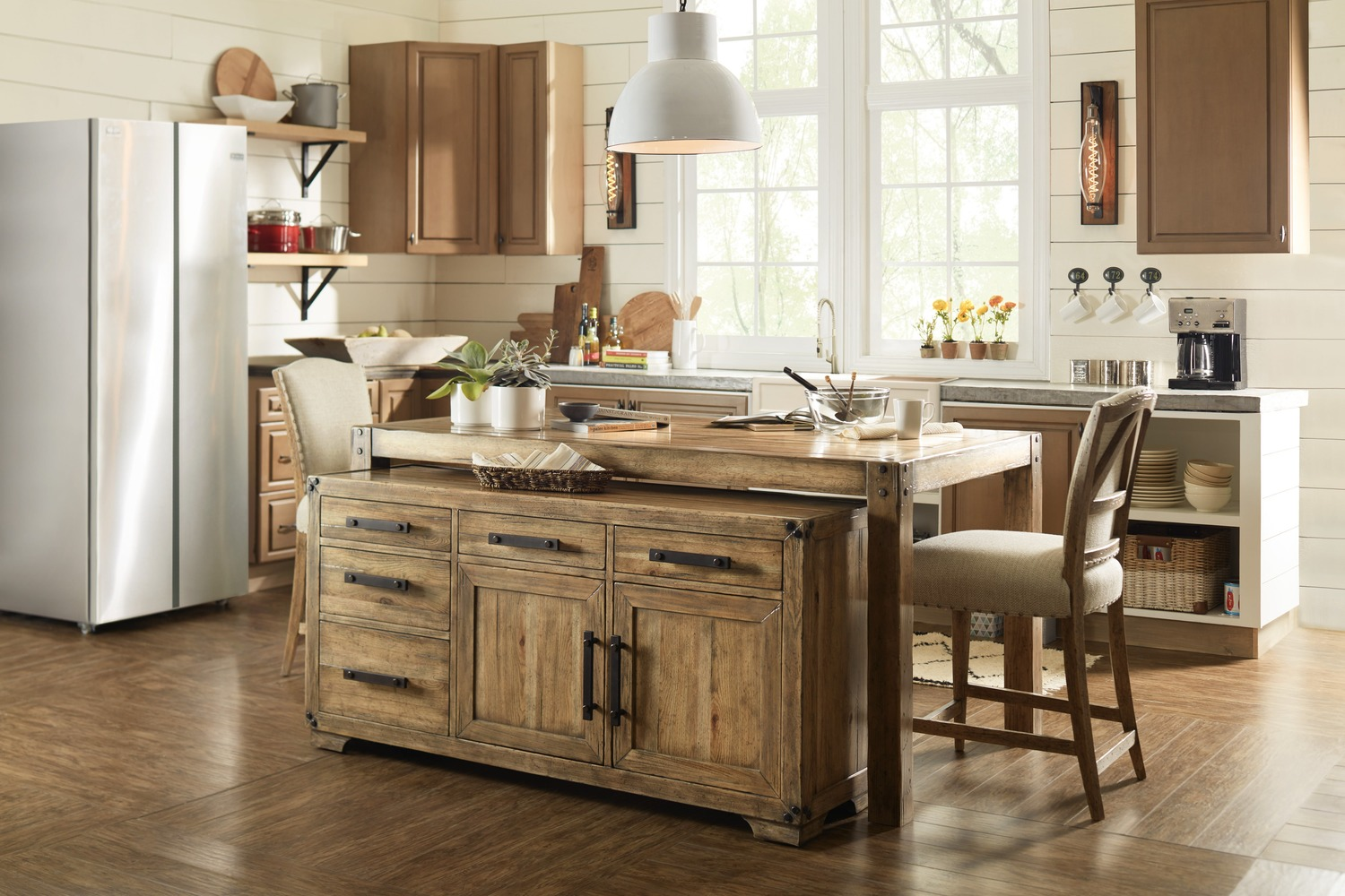 Hidden · Additional Dining Room Roslyn County Multifunctional Cart