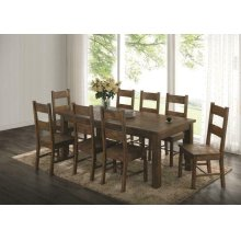 Coleman Golden Brown Five-piece Dining Set