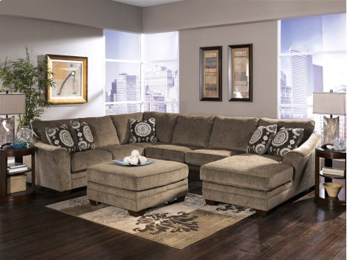 3-Piece Sectional with LAF Chaise