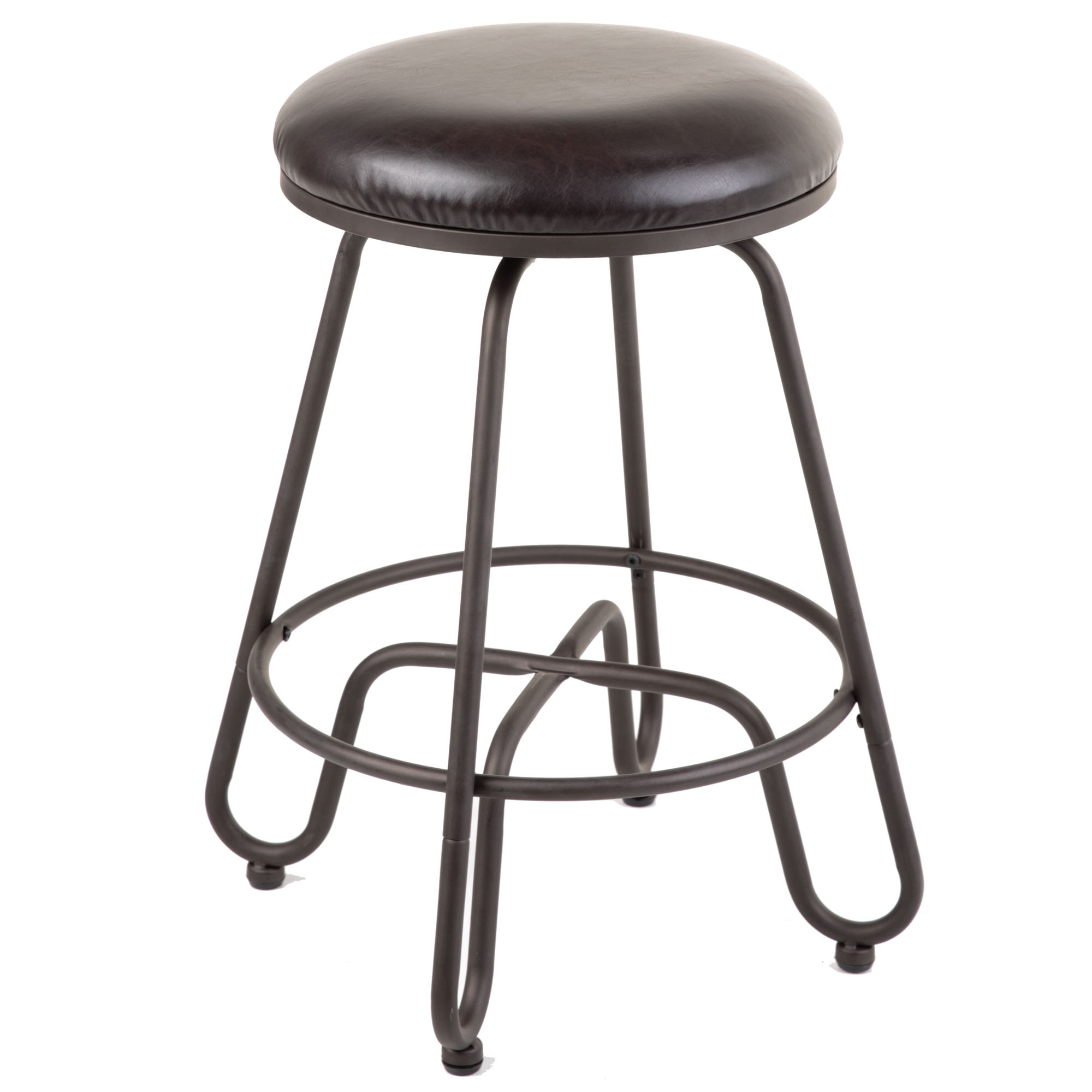 C1m010fashion Bed Group Denver Backless Swivel Seat Bar Stool With