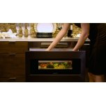 Sharp Appliances 24 In. 1.2 Cu. Ft. 950w Sharp Black Stainless Steel Microwave Drawer Oven