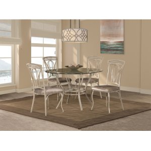 Hillsdale FurnitureNapier 5-piece Round Dining Table Set - Aged Ivory