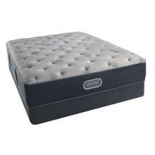 BeautyRest - Silver - Sea Glass  - Tight Top - Plush -