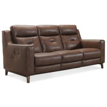 Living Room Lachlan Power Recline Sofa w/ Power Headrest