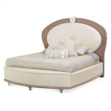 Cal King Upholstered Bed