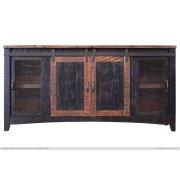 TV-Stand w/2 Doors, 2 Mesh Doors Product Image