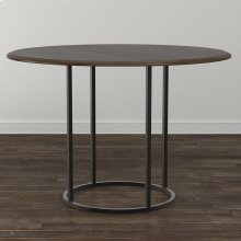 """Custom Dining 60"""" Copper Table w/Round Tall"""