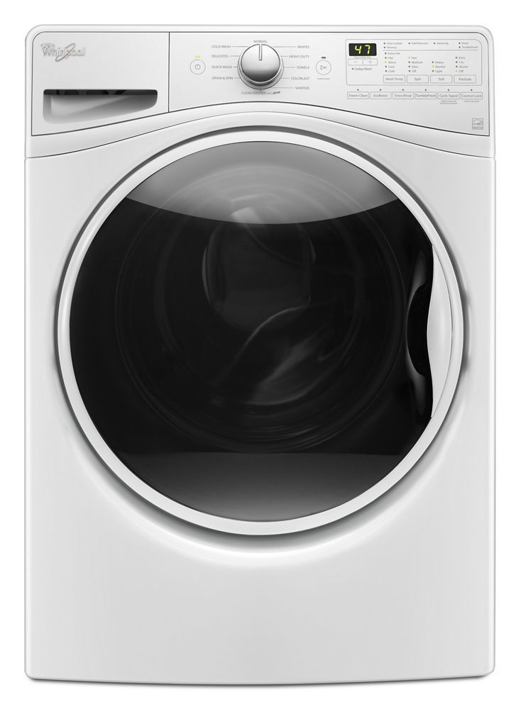 Wfw85hefw Whirlpool 4 5 Cu Ft Front Load Washer With