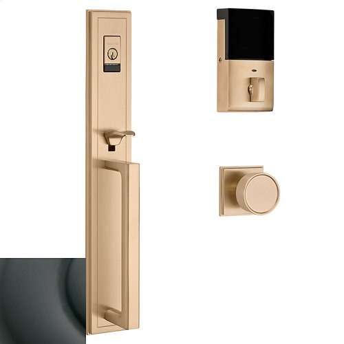 Oil-Rubbed Bronze Evolved Hollywood Hills Full Escutcheon Handleset