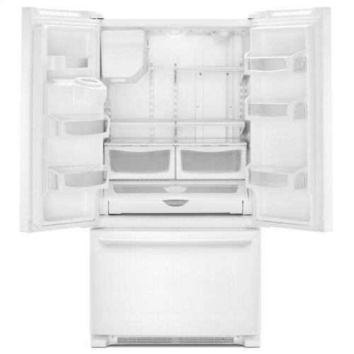 36- Inch Wide French Door Refrigerator with PowerCold® Feature - 25 Cu. Ft.