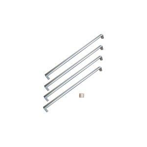 BertazzoniHandle Kit for 36 French Door refrigerator Stainless Steel