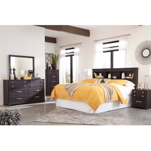 Reylow - Dark Brown 2 Piece Bedroom Set