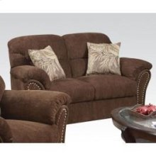 Loveseat W/2 Pillows @n