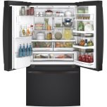 GE Profile Series ENERGY STAR® 22.1 Cu. Ft. Counter-Depth French-Door Refrigerator with Hands-Free AutoFill