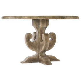 Dining Room Boheme Ascension 48in Wood Round Dining Table