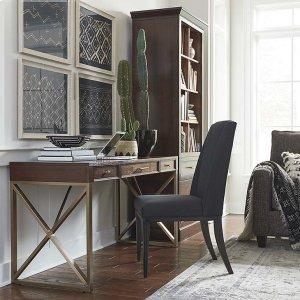 "Bassett FurnitureStoreroom Modular Storage 54"" Desk"