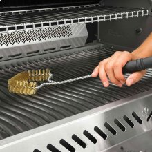 Three Sided Grill Brush - Brass Bristles