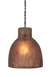 Timber and Tanning Glass Pendant Light (1/CN)
