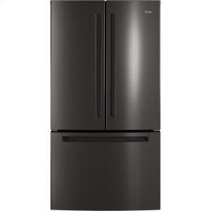 HaierENERGY STAR(R) 27.0 Cu. Ft. French-Door Refrigerator
