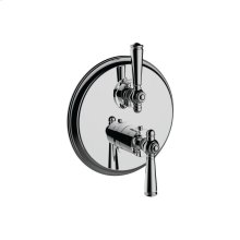 """7095jp-tm - 1/2"""" Thermostatic Trim With Volume Control in Polished Chrome"""