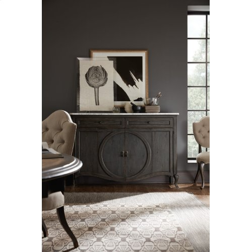 Living Room Arabella Four-Door Two-Drawer Credenza