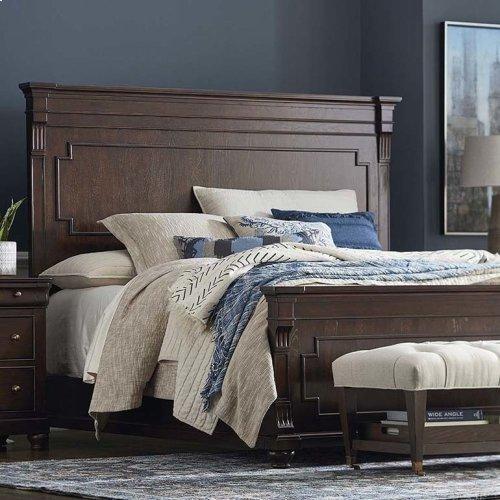 King/Provence Cobblestone Provence Panel Bed