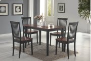 Laurel Cappuccino & Cherry 5 Pc Dining Set Product Image
