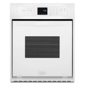3.1 Cu. Ft. Single Wall Oven with High-Heat Self-Cleaning System - WHITE
