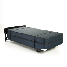 """Hospitality 998 Stow-Away Bed System with 39"""" Anti-Bacterial Ticking Innerspring Mattress and 3"""" Swivel Casters, Twin"""