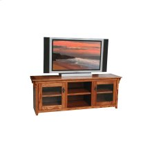 "O-M270 Mission Oak 64"" TV Console"