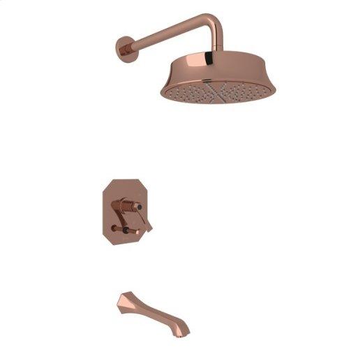 Rose Gold Bellia Bekit300l Pressure Balance Shower Package