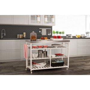 Hillsdale FurnitureKennon Kitchen Cart - Stainless Steel