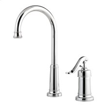 Polished Chrome 1-Handle Bar & Prep Faucet