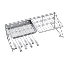 WEBER ORIGINAL - Grill Rack and Skewer Set
