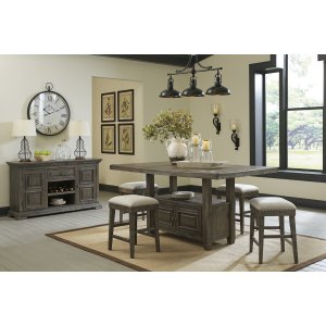 Ashley Furniture Rect Counter Table W/storage