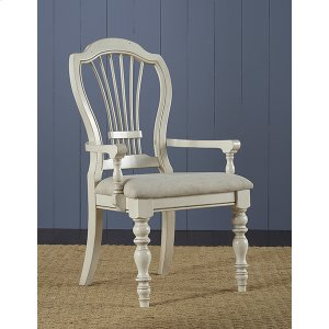 Hillsdale FurniturePine Island Wheat Back Arm Chair - Set of 2