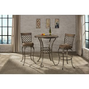 Hillsdale FurnitureLannis 3-piece Bar Height Bistro Dining Set