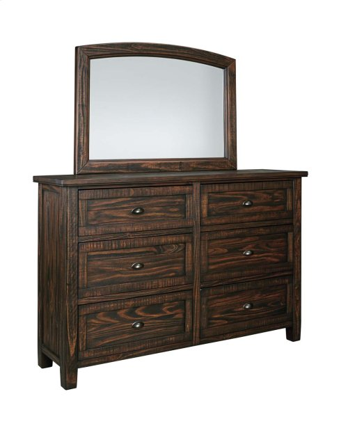 Trudell - Dark Brown 2 Piece Bedroom Set