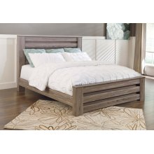 Zelen - Warm Gray 3 Piece Bed Set (King)