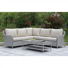 Cogswell Patio Sectional W/ Coffee Table