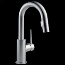 Arctic Stainless Single Handle Pull-Down Bar / Prep Faucet