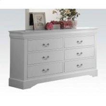 White L.p III Dresser