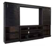 Sharlowe - Charcoal 4 Piece Entertainment Set