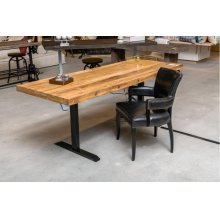 Power Adjustable Desk Base Black