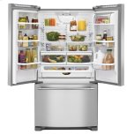 Maytag 33-Inch Wide French Door Refrigerator - 22 Cu. Ft.
